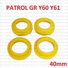 Nissan Patrol GR Y60 Y61 BAGUES DE SUSPENSION RESSORT AVANT+ARRIÈRE 40MM