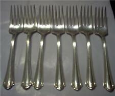 JB 25 YEAR PLATE SILVERPLATED SALAD FORKS SET OF 7