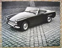 AUSTIN HEALEY OFFICIAL SPRITE Mk III SALES SHEET BROCHURE 1964 USA EDITION