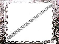 CHAÎNE BOX RONDE *1 mm* (1 Mètre) EN ARGENT MASSIF 925 *.Réf: VD19RON