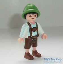 Playmobil  Country - Bavarian Mountain - Figure - Little Boy & Green Hat  - NEW