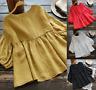 Women Plus Size Tee Blouse  Cotton  Tops  Baggy  comfy Oversized T-Shirt  Fit