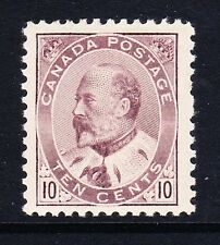 CANADA 1903 10c PALE DULL PURPLE SG 183 MINT.