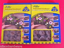2-Jiffy Professional Greenhouse Seed Starter Kit 72 Cell Peat Pellet Refil J3R72