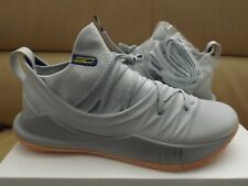 Under Armour Curry 5 Men's Basketball Shoes Size 11 Tokyo Grey/Gum 302657-105