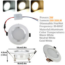 Dimmable LED Recessed Ceiling Light Downlight Bulbs 3W 5W 7W 9W 12W Fixture Lamp