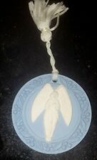 Wedgwood Angel Christmas Ornament Jasperware