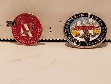 Lot of 4 Hot Rod hat pins