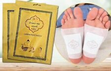 THAILAND LANNA FOOT PATCH NATURAL HERB DETOX TRADITIONAL TREATMENT 10PCS/PACK