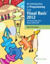 An Introduction to Programming Using Visual Basic 2012(wVisual Studio -ExLibrary