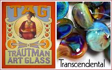 "33,13€//m AK33° TRAUTMAN ART GLASS /""Pink Cadillac/"" BORO"