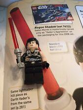 Rare Lego Star Wars Minifigure-Galen Marek-Starkiller- Vaders Secret Apprentice