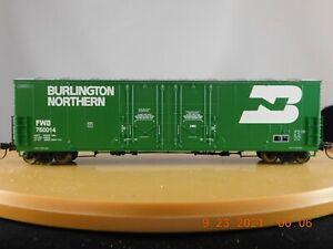 Atlas HO Scale 53' Evans Double Plug Door Boxcar Burlington Northern (FWD)