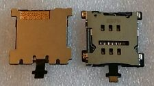 Scheda SIM Supporto Lettore Card Reader Holder slot Connector Flex HTC ONE MINI m4