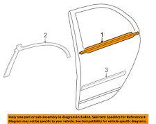TOYOTA OEM 03-06 Corolla Rear-Window Sweep Belt Felt Molding Left 7574002081