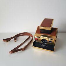 Polaroid SX70 Gold Edition