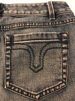 Ann Taylor Loft Women's Jeans Curvy Boot Cut Stretch Size 4P X 29