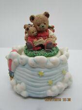 Vintage 1992 The San Francisco Music Box Company Teddy Bear Theme Refurbish it