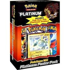 Pokemon Platinum Poster Pack Magnezone Promo Card & Booster Packs Sealed TCG