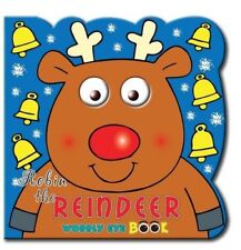 New, Reindeer (Christmas Wobble Eye Book), North Parade Publishing, Book