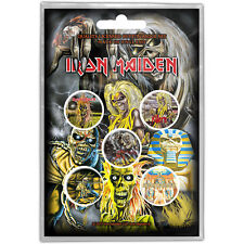 Iron Maiden Early Albums Button-set mehrfarbig