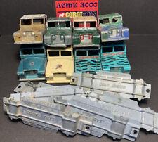 1960-74 Corgi Toys 416 417 438 477 487 GS7 LAND ROVER 109 WB Series 3 SCRAP PILE