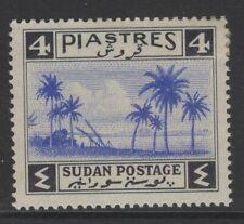 SUDAN SG90 1941 4p ULTRAMARINE & BLACK MTD MINT