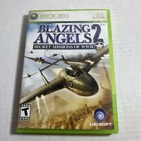 Blazing Angels 2: Secret Missions of WWII - Microsoft Xbox 360 Complete