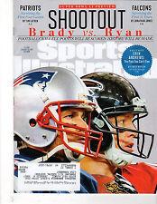 SPORTS ILLUSTRATED - Jan 30, 2017 - Brady vs Ryan Cover - Patriots, Falcons, NFL