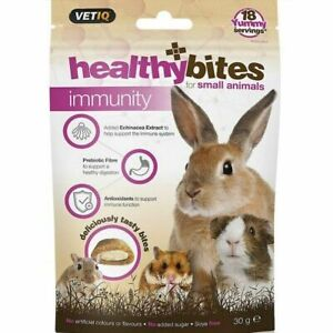 VetIQ Healthy Bites Immunity Care Small Animal Treats 6 x 30g