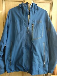 Mountain Hardware, Gortex Pro-Shell, Navy, Good Condition, Men's XL