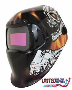 """3M Speedglas 100V Series Welding Helmet """" Aces High """" Variable Shade 3 / 8-12"""