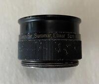 Vintage extension tube Leica Leitz Summitar Summar Elmar 5cm M 1:2 screw mount
