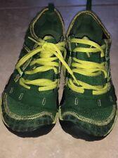 Green & Yellow Sneakers Vibram By New Balance Sz 7