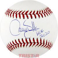 Larry Walker Signed Autographed Official ML Baseball Inscribed HOF 2020 TRISTAR
