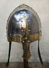 Viking Norman  Knight Helmet With Liner  Medieval Reproduction Helmet