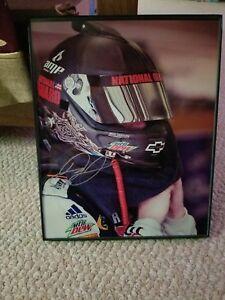 dale Earnhardt Jr autograph photo