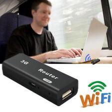 Mini 3G/4G AP Portable Wireless WiFi Router 150M Phone Tablet Hotspot USB  3