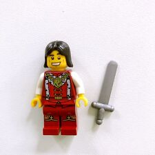 Genuine Lego Kingdoms Minifigures Lion Prince from Set 7952