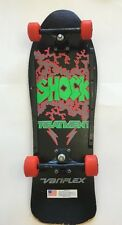 Wow Vintage RARE Awesome VARIFLEX SHOCK TREATMENT Skateboard 60mm Wheels Unique