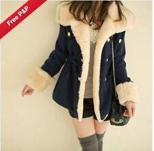 Faux Fur Casual Coats & Jackets for Women