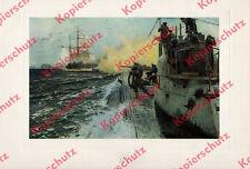 Claus Bergen Kaiserliche Marine U-Boot Seegefecht St. Kilda Nordsee Wappen 1917