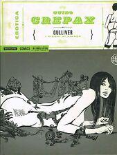Erotica 12 di Guido Crepax:Gulliver CARTONATO volume unico ed.Mondadori