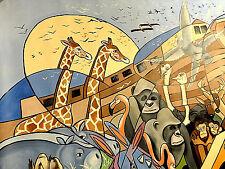 Noah's Ark Anthony Falbo ORIGINAL w/CoA Cubist Style Pablo Picasso Signed $55000