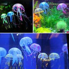 Efecto brillante medusas Artificial Decoración para Acuarios Decoración para peces tanque ornamento