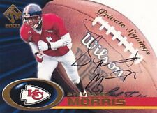 SYLVESTER MORRIS RC 2000 PACIFIC PRIVATE STOCK PRIVATE SIGNINGS #18 AUTO FB2639