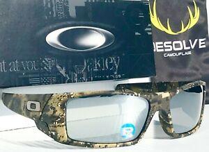 NEW* OAKLEY GASCAN Desolve Camo POLARIZED Galaxy Chrome Mirror Sunglass 9014
