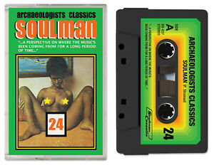 Soulman Archaeologists Classics 24 Cassette Tape Funk Soul Jazz Phill Most Chill