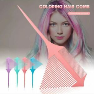 New Highlighting Combs Hair Dye Comb Hairdressing Styling Hair Color Tools UK