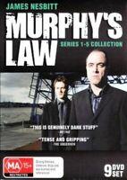 Murphys Law Series Season 1 + 2 + 3 + 4 + 5 (DVD SET) OVER 22 HOURS - BRAND NEW